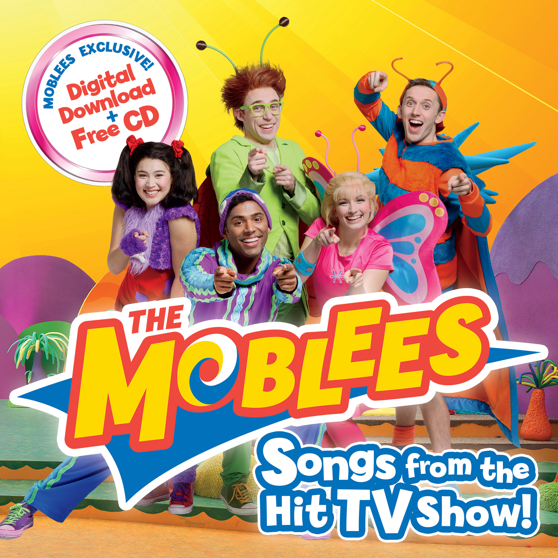 The Moblees: Songs from the Hit TV Show!